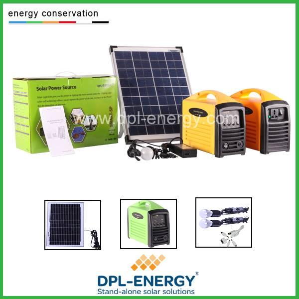 AC DC output solar generator 220v portable