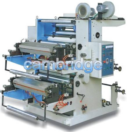 Stack Type 2-color Flexographic Printing Machine