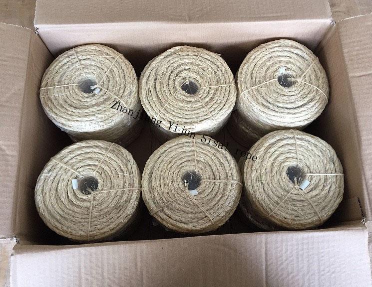 Natural fiber Sisal rope