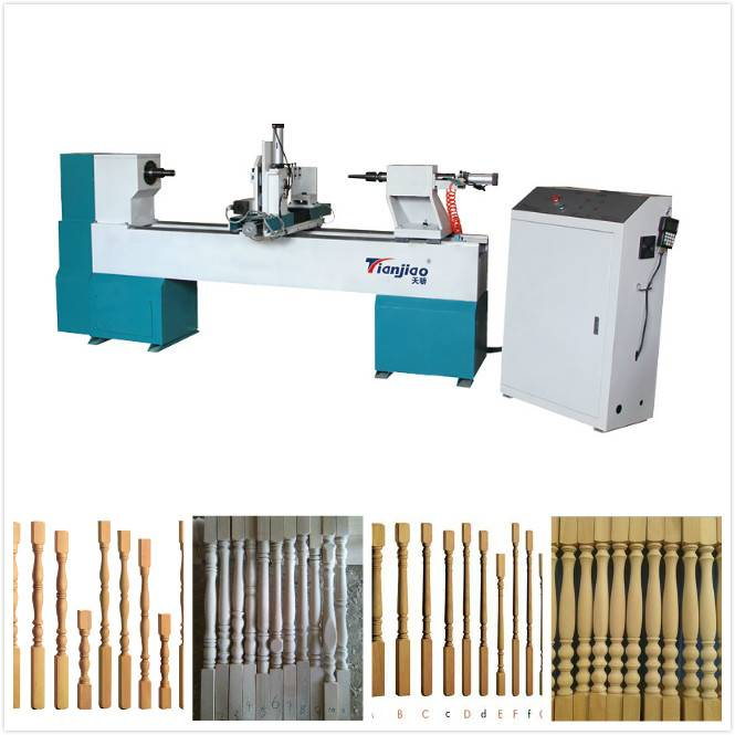 tianjiao product automatic wood lathe for sale