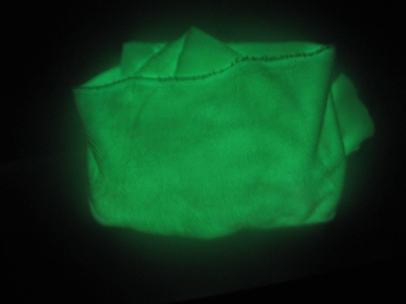 luminescent fabric, glow plush fabric