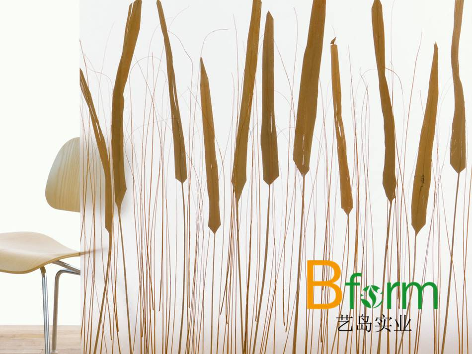 resin partition panel, innovative material with natural elements