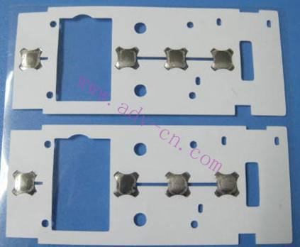 metal dome array & metal dome sheet---Single Layer