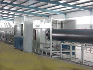 FD-G250/450MD/HDPE gas water pipe production line