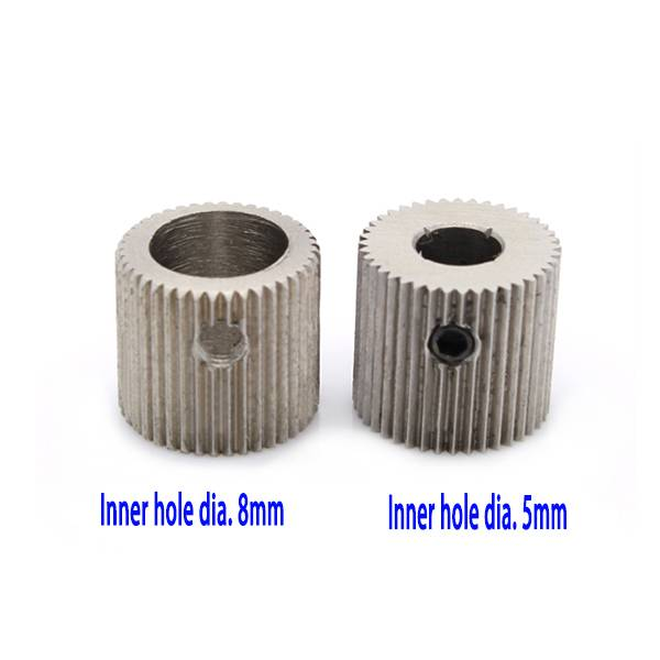 Cashmeral please to sell Stainless steel drive gear for MK7 MK8 extruder 40T for 3d printer