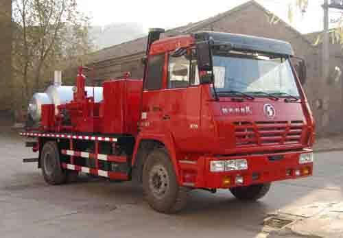 Shacman Wax Flushing Truck