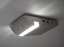 LED cabinet lights with PIR sensor