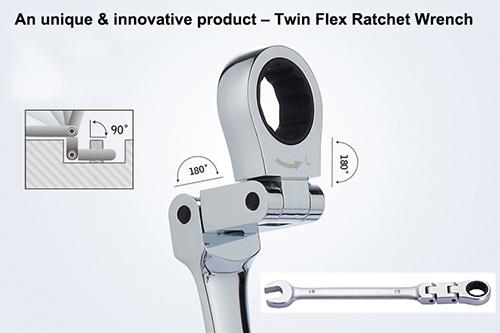 Twin Flex Ratchet Wrench