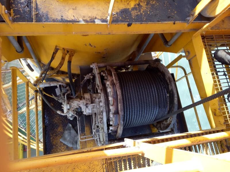 offshore platform tower lebus groove winch