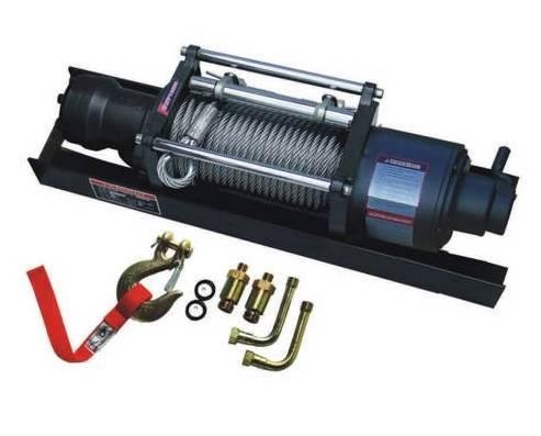 hydraulic recevery winch