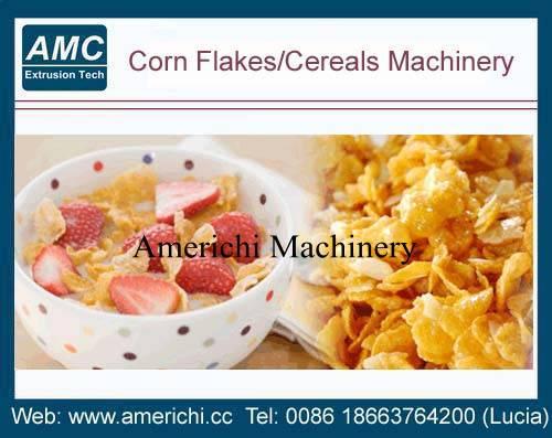 corn flakes breakfast cereals machines