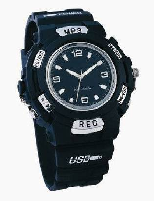 MP3 watch and UV