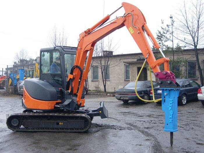 hydraulic hammer for mini excavator