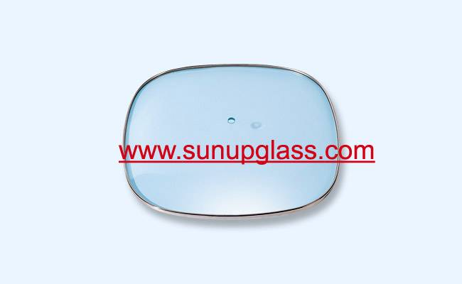 square shape glass lids for square cooking pan