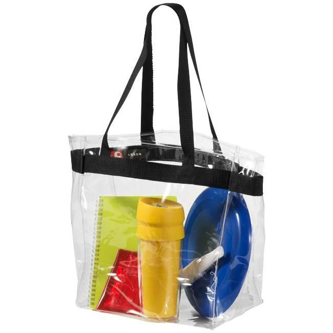 Transparent PVC Tote/PVC-Tasche/PVC transparente de asas/Promotion Bags