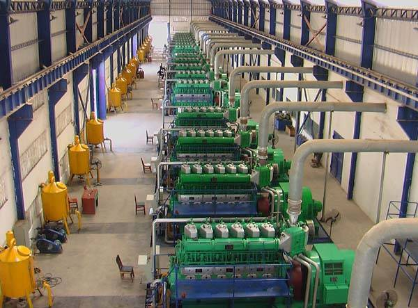 30MW HFO power plant projects(30MW generator sets)