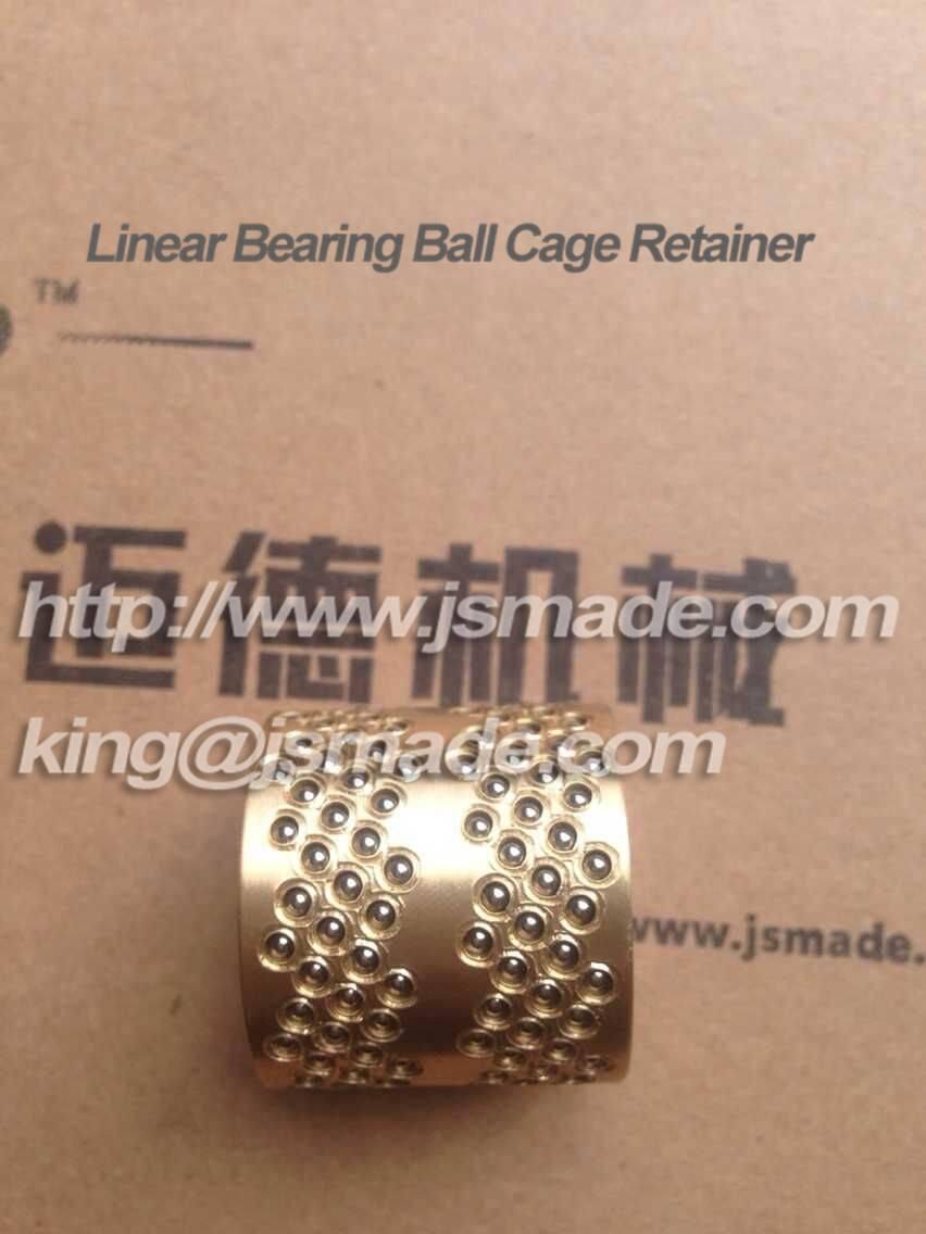 Miniature ball bearing guide bushing