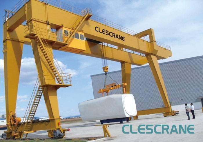CWG Series Double Girder Electric Gantry Crane Supplier For Sale