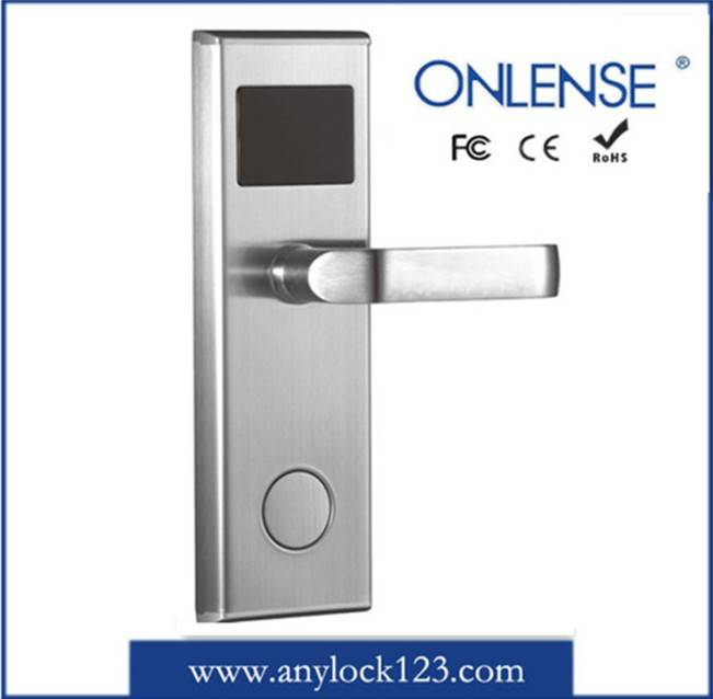 RFID Smart Card Hotel Door Lock in Factory Price