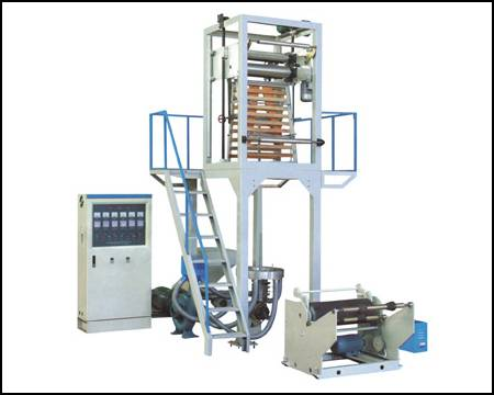 film blowing (extrusion) machine
