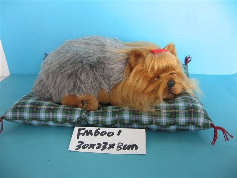 fur animal model toys, real-like animal decoration, fur animal model decoration, fur toy dog