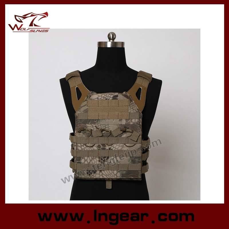 Molle Combat Assault Plate Carrier Vest Amphibious Tactical Safety Vest For Military