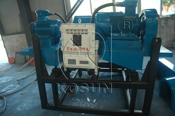 drilling decanter centrifuge applied in oilfield