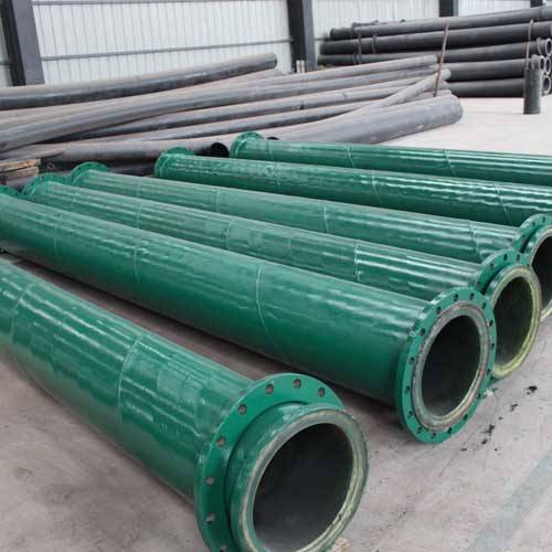 PU lined steel pipe for tailing conveying