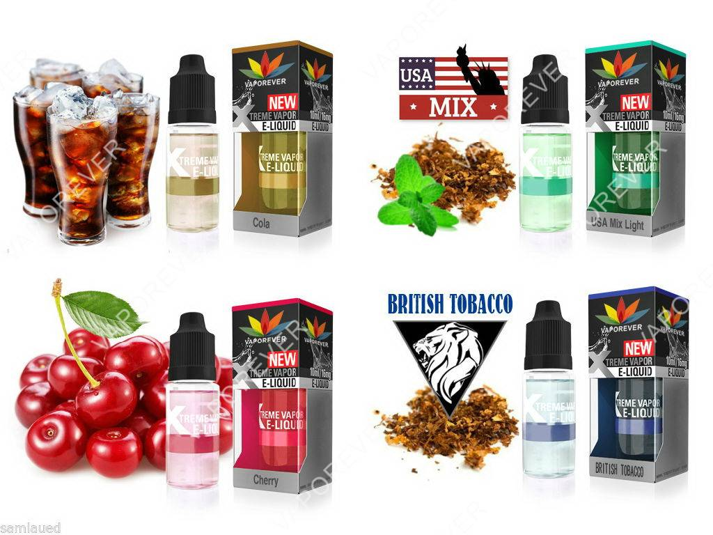 Fruit flavor E-liquid