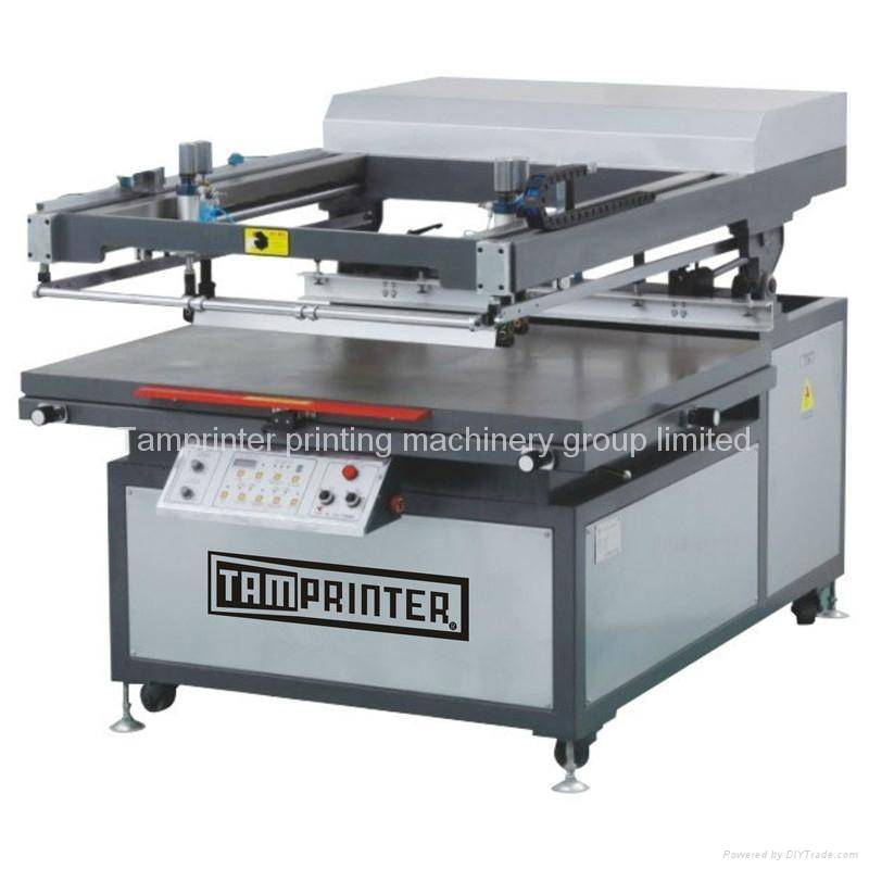 Tmp-90120 Oblique Arm Type Flat Pattern Screen Printer