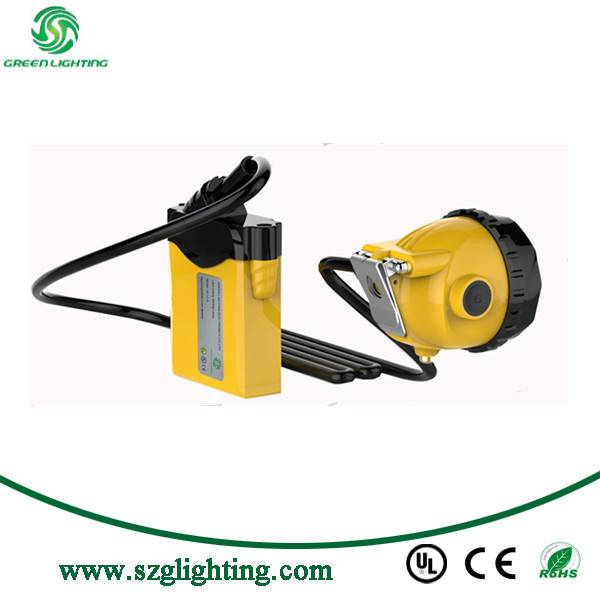 Cordless Cap Lamp Description 12000lux high brightness, LCD screen display the time, battery capaci