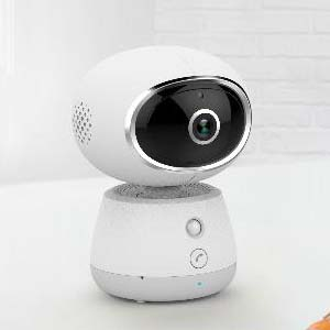 Indoor WiFi IP Camera Motion detection Two Way Audio Night Vision SD Card max 128GB Cloud Storage