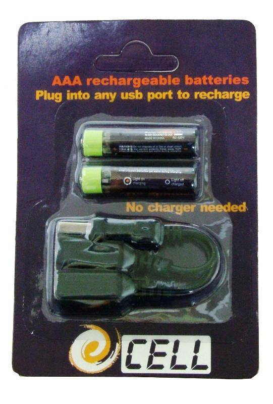 AAA USB Cell,USB Rechargeable Battery,USB Battery,Rechargeable USB Battery,USB AAA Cell