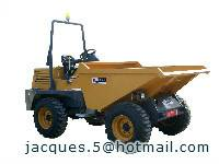 3ton luxury dumper( dumper with hydraulic tipping hopper)