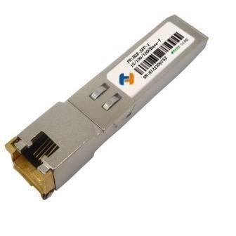 Copper SFP 10/100/1000Base-T RJ-45 Bi-directional Fiber Optical Transceiver Module