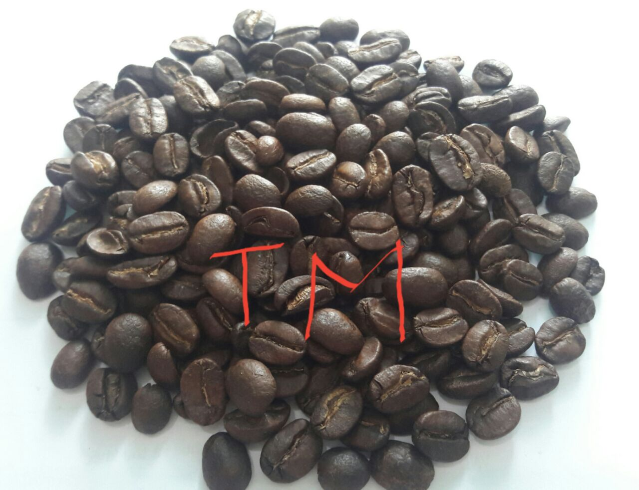 High quality of roasted arabica coffee beans