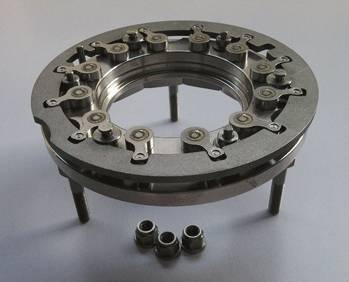 Turbocharger nozzle ring CT16V