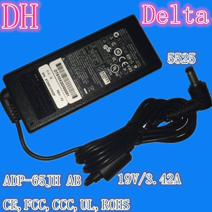 laptop adapter for Delta of ADP-65JH AB