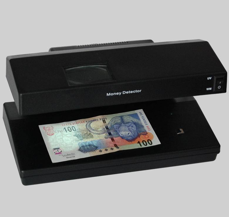Portable UV Counterfeit Book-note detector LKS-RH1786