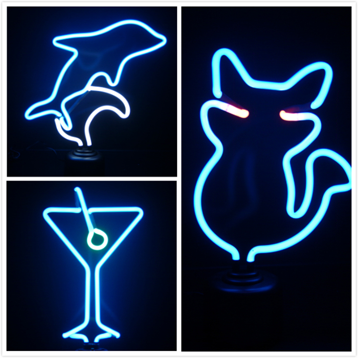 zoom Custom Decorative Neon Table Light Neon Lamp for Room
