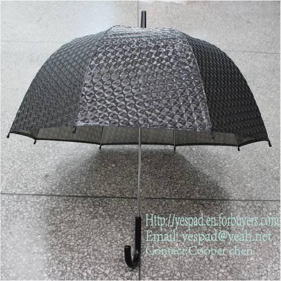 3D POE Umbrella PVC Umbrella