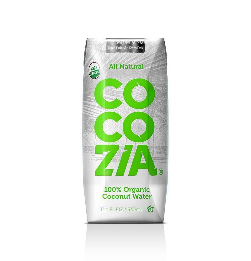 COCOZIA 100% Organic Coconut Water