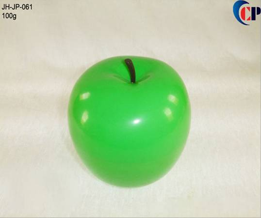100g Green Apple Fruit Cream Jar , pp baby skin care jar