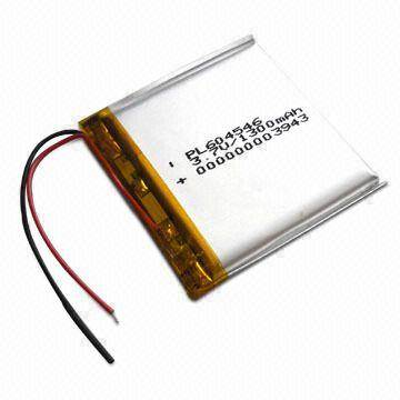 Lithium Polymer Battery with 500x Life-cycle, Use for Interphone