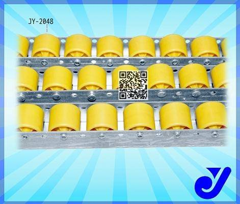 plastic roller track conveyor for rack system