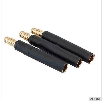 3.5mm Male to 4mm Female bullet adapter For Motor ESC Plane Heli Quad RC