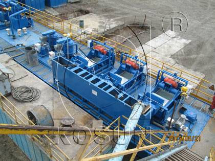 KOSUN drilling solids control equipment