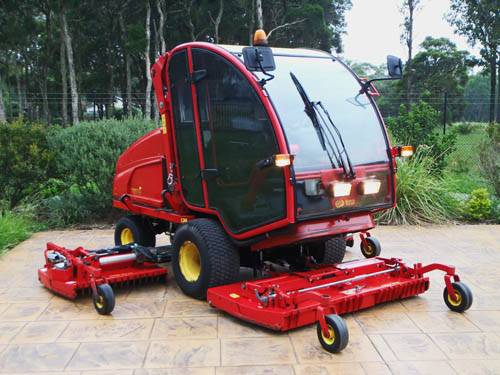 Looks Newl Gianni Ferrari Turbo 6 Diesel Winged Out Front Ride On Mower