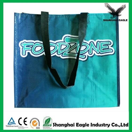Custom lamination non woven shopping bag