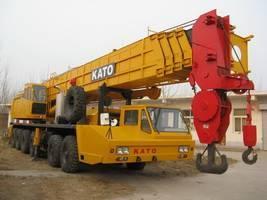 Sell Japan made KATO NK1200E mobile truck 120ton crane used kato crane